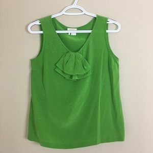 Kate Spade live colorfully silk top S